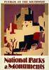 Art Prints of Pueblos of the Southwest, 1935, Travel Posters