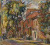 Art Prints of Red Buildings by Abraham Manievich