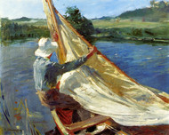Art Prints of On the Bure by Alfred James Munnings