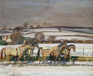 Art Prints of Exercising by Alfred James Munnings