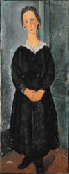 Art Prints of Servant Girl by Amedeo Modigliani