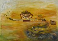 Art Prints of Black Valley Railroad, American School