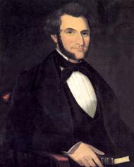 A Gentleman, 1850 by Ammi Phillips