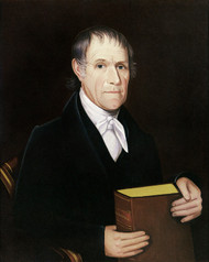 Art Prints of Gentleman with Large Bible by Ammi Phillips