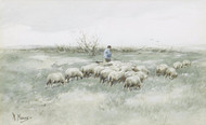 Art Prints of Changing Pastures by Anton Mauve