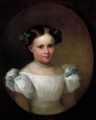 Georgianna Frances Adams by Asher Brown Durand