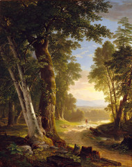 Art Prints of The Beeches by Asher Brown Durand