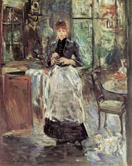 Art Prints of In the Dining Room by Berthe Morisot