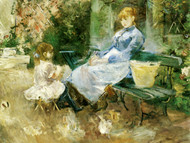 Art Prints of The Fable by Berthe Morisot