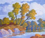 Art Prints of Autumn by Birger Sandzen