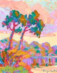 Art Prints of Smokey River at Sunset, 1928 by Birger Sandzen