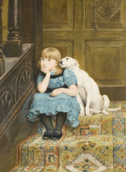 Art Prints of Sympathy by Briton Riviere