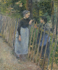 Art Prints of Conversation by Camille Pissarro