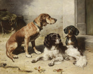 Art Prints of After the Hunt II by Carl Reichert
