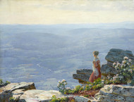Art Prints of Haze in the Valley by Charles Courtney Curran