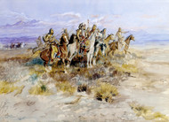 Art Prints of Indian Scouting Party by Charles Marion Russell