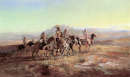 Art Prints of Sun River War Party by Charles Marion Russell