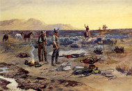 Art Prints of The Prospectors by Charles Marion Russell