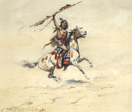 Art Prints of War, 1899 by Charles Marion Russell
