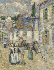 Aven Pont, 1897 by Childe Hassam