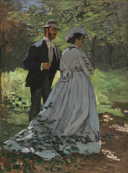 Art Prints of Bazille and Camille by Claude Monet