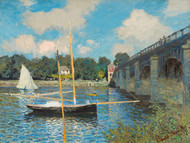 Art Prints of The Bridge at Argenteuil by Claude Monet