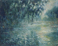 Art Prints of Morning on the Seine by Claude Monet