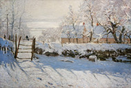 Art Prints of Magpie by Claude Monet