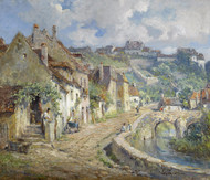 French Village by Colin Campbell Cooper