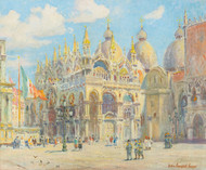 Saint Mark's Cathedral by Colin Campbell Cooper