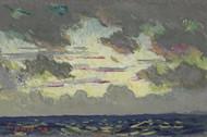 Santa Barbara Sunset by Colin Campbell Cooper