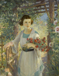The Rustic Gate by Colin Campbell Cooper