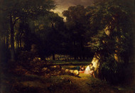 Art Prints of The Bathers or Clearing in the Forest by Constant Troyon