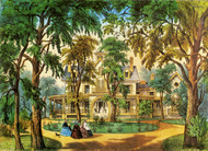 A Home in the Country by Currier & Ives