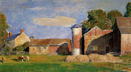 Art Prints of A Solebury Farm by Daniel Garber