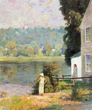 Beside the River by Daniel Garber