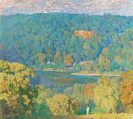 Art Prints of Delaware Hillside by Daniel Garber