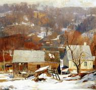 Art Prints of Late Snow, Byram by Daniel Garber