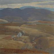Art Prints of Lone Farm by Daniel Garber