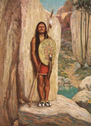 Art Prints of The Sentinel by Eanger Irving Couse