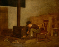 Art Prints of The Early Scholar by Eastman Johnson