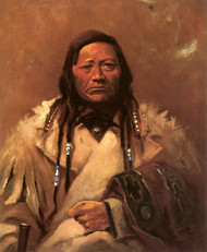 Art Prints of Charlo, Chief of the Flatheads by Edgar Paxson