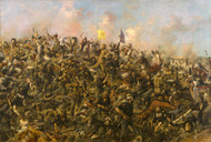 Art Prints of Custer's Last Stand by Edgar Paxson