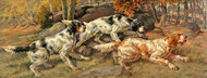 Art Prints of Three Setters in a Landscape by Edmund Henry Osthaus