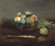 Art Prints of Basket of Fruit by Edouard Manet