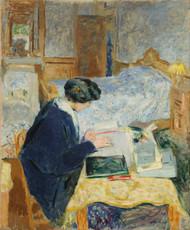 Art Prints of Lucy Hessel Reading by Edouard Vuillard