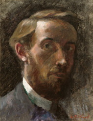 Art Prints of Self Portrait, Age 21 by Edouard Vuillard