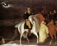 Art Prints of George Washington with Army Crossing the Delaware by Edward Hicks