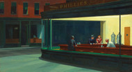 Art Prints of Nighthawks by Edward Hopper