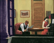 Art Prints of Room in New York by Edward Hopper